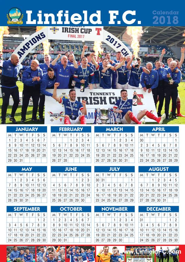 the linfield 2018 poster calendar below is on sale now in the windsor superstore priced 1